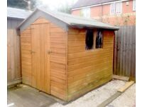 Garden Shed 8' X 6'. T& G. Reduced BARGAIN £60 if sold TODAY