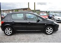 Peugeot 307 1.6HDi 5 DOOR BLACK 2007 MODEL + READ THIS ADVERT!!!+