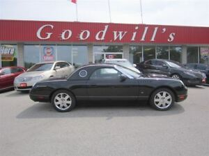 2002 Ford Thunderbird AS TRADED! SUNROOF!