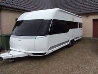 Hobby 650 UFf 4/5 berth caravan 2013 immaculate condition hardly used £ 12500 for quick sale
