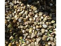 Small quantity of gravel