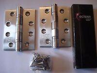 40x eclipse fire door hinges 102x76x3 brand new