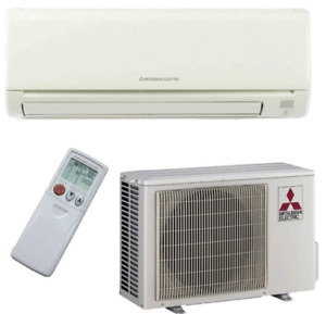 Mitsubishi mini-split 30.5 SHEER A/C with heater built-in
