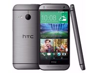 HTC One Mini 2 Grey (Unlocked) Smartphone in good condition