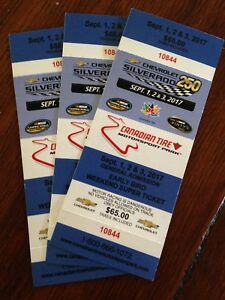 Tickets for Mosport