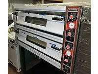 "Double Deck Pizza Oven 12 x 12"" en232"