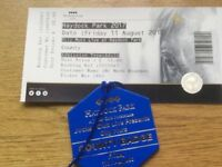 Olly Murs - 11th August Haydock races County badge entry