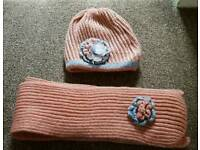 Matching Hat & Scarf Never Been worn