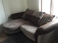 Sofa and Cuddle Chair (Less than year old)
