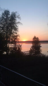 LAKEFRONT Lot with Cabin on Lake Isle in Parkland County!
