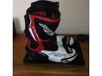 RST Tractech evo race boots size 10uk