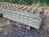 6 foot x 1 foot trellis panels,stock clearance