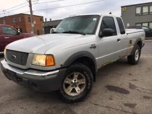 2002 Ford Ranger XLT 4X4 OFF ROAD **ONLY $2499**