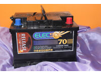 ELECSOL 70ah leisure battery, hardly used, vgc