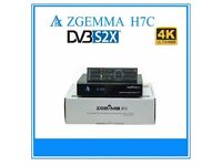 Zgemma H7C triple tuner receiver 1xsatellite + 2x cable tuners 4K with 500GB internal Hard Drive