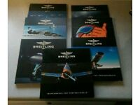 Brietling catalogues for sale.