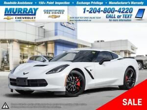 2016 Chevrolet Corvette Stingray Z51 *Leather Seats, Remote Star