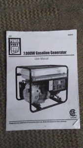 7000 Watt Gasoline Generator For Sale