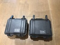 2 Peli 1200 Protector Cases - Black - Good condition - £25 Each