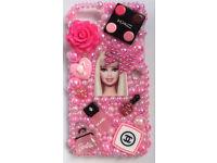 Customised Barbie makeup iPhone 7 case