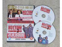 *RARE* Bottom Live - The Stage Show / Bottom - The Big Number 2 Live Tour (DVD)