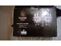 Marie Therese Chandelier Clear unused still in box