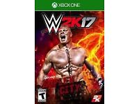 Wanted WWE 2k17 Xbox One
