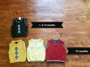 Boys dress shirts 6 months up to 24 months