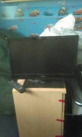 Bush flat screen TV with built in free view