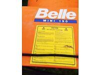 BELLE MINIMIX 150 ELEC. CONCRETE MIXER 240V