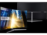 Samsung 65 inch KS9000 Super 4K SUHD HDR Superb Slim Curved Top MODEL Smart TV Quantom dot