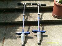 Pair of Pogo Sticks.