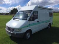 Mercedes-Benz motor caravan 212D 2.8 td LWB only covered 87735 miles 2 owners