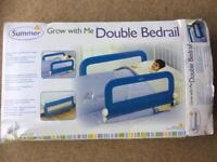 Double Bedrail / Bed Guard