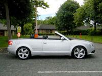 2007 AUDI A4 CABRIOLET 3.0TDI TIPTRONIC QUATTRO S LINE++WITH MEGA SPEC+SAT/NAV++