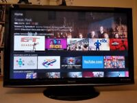 """Panasonic Viera 50"""" Plasma TV 1080p"""