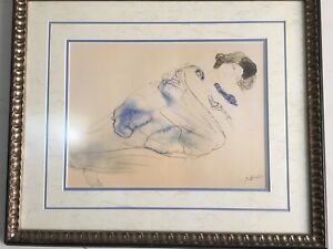 Rodin Water color Painting for sale