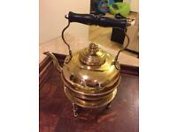 Vintage Brass and copper kettle