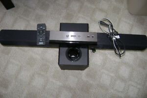 phillips sound bar with subwoofer  htl2160/2151 8.0 impedance