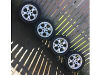**Vauxhall Alloys & Brand New Tyres**
