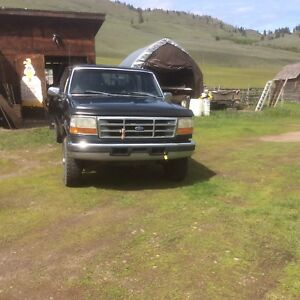1997 Ford 250 diesel 4x4, 7.3 litre  engine
