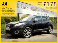 NISSAN QASHQAI 1.6 TEKNA IS DCIS/S 5d 130 BHP Apply for finance O (black) 2013