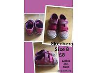 Girls Skechers trainers