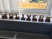 Wooden Oliver train new