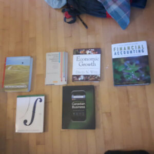 Various Textbook for Sale - Econ and Commerce