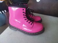 Bright pink size 9 Dr Marten Boots