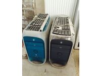 Apple Macs G3 and G4 x2 for spares or repair