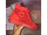 Christian louboutin red poppy