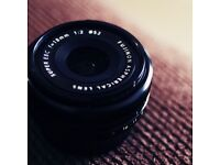Swap my Fuji 18mm f2 for your 23mm f2