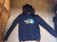 Boys Northface hoodie size large